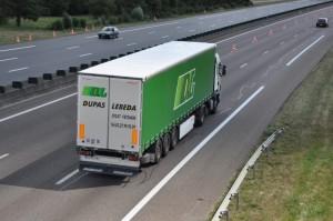 camion en route