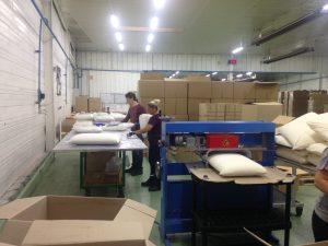 Chaine d'assemblage logistique